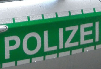 aa polizeischild
