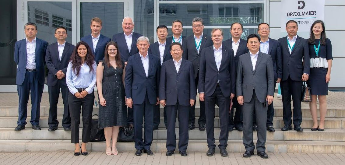 china delegation bei DRÄX