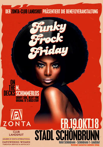 Funky Frock Friday Zonta