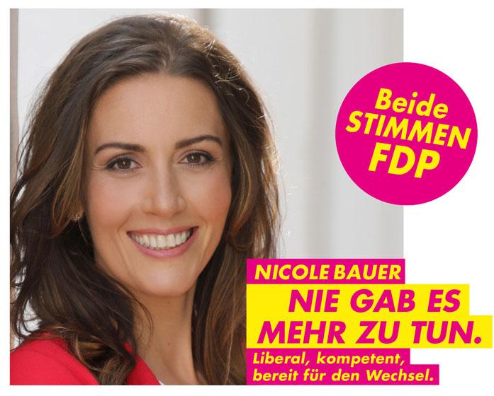 Bauer Nicole FDP